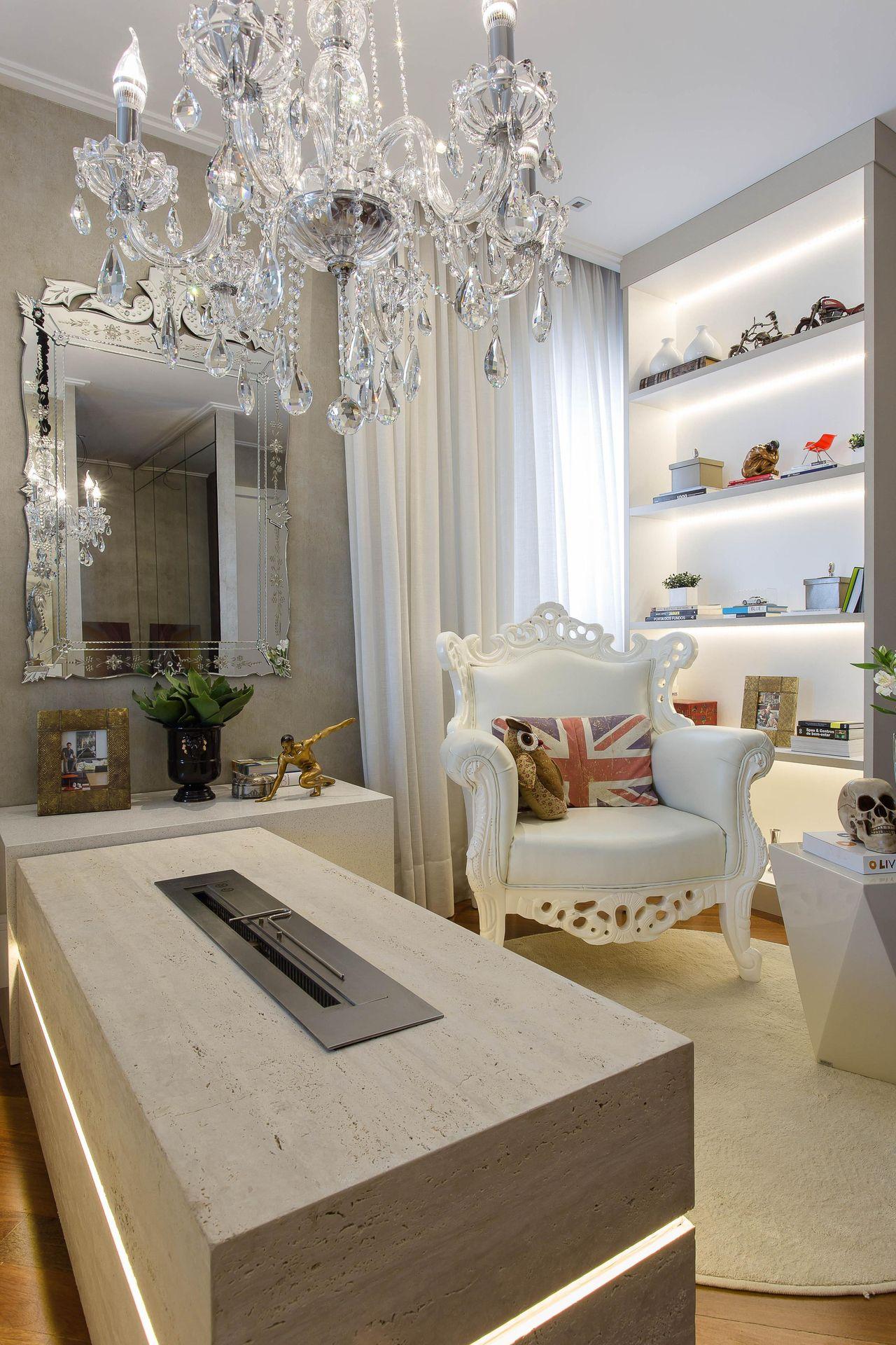 31b981943 Decoração Sala de estar com poltrona e almofada decorativa marciaacaro 36914