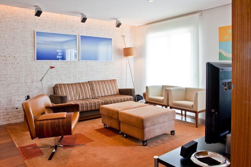 Sala De Estar Com Marrom ~ decoração sala de estar sala de estar com sofá marrom