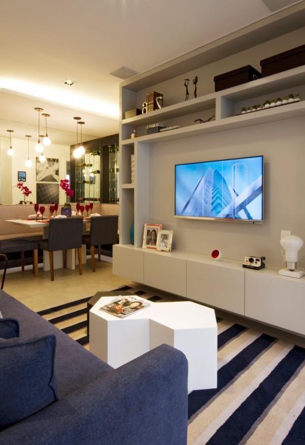 Fotos De Sala De Estar Com Tapete ~ decoração sala de estar sala de estar com tapete listrado
