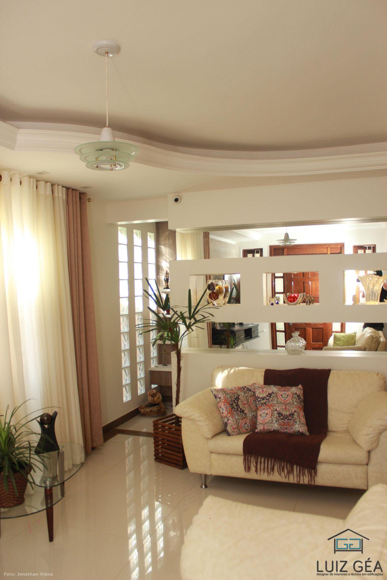 Decorao De Sala Com Gesso Como Fazer Decorao Com Gesso Imagem  -> Gesso Para Sala De Estar Pequena