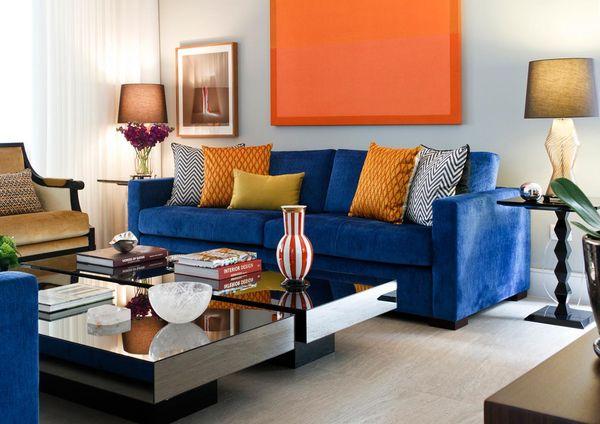 decoração cores complementares - cores de tintas