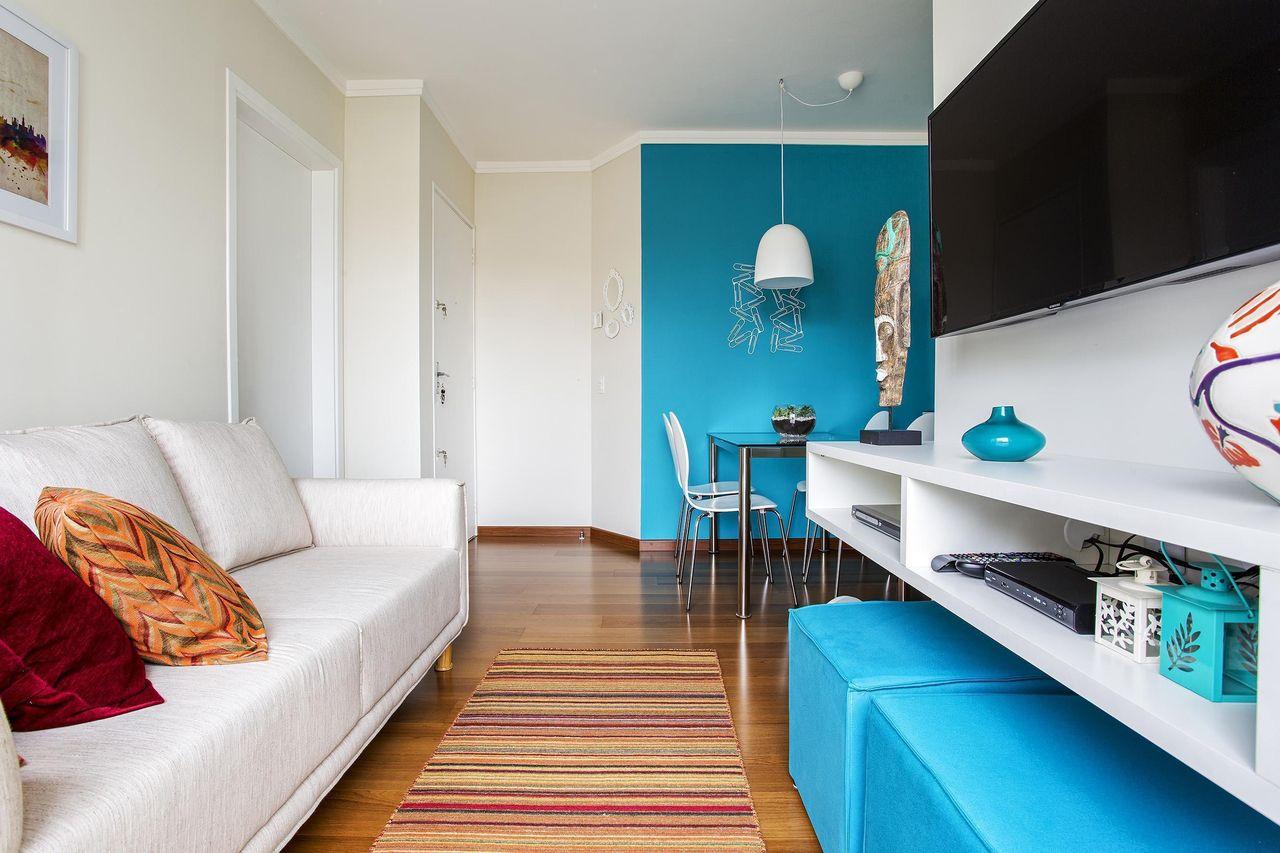 Salas Decoradas Pequenas Podem Ser Encantadoras  -> Salas Com Sala De Jantar Pequena