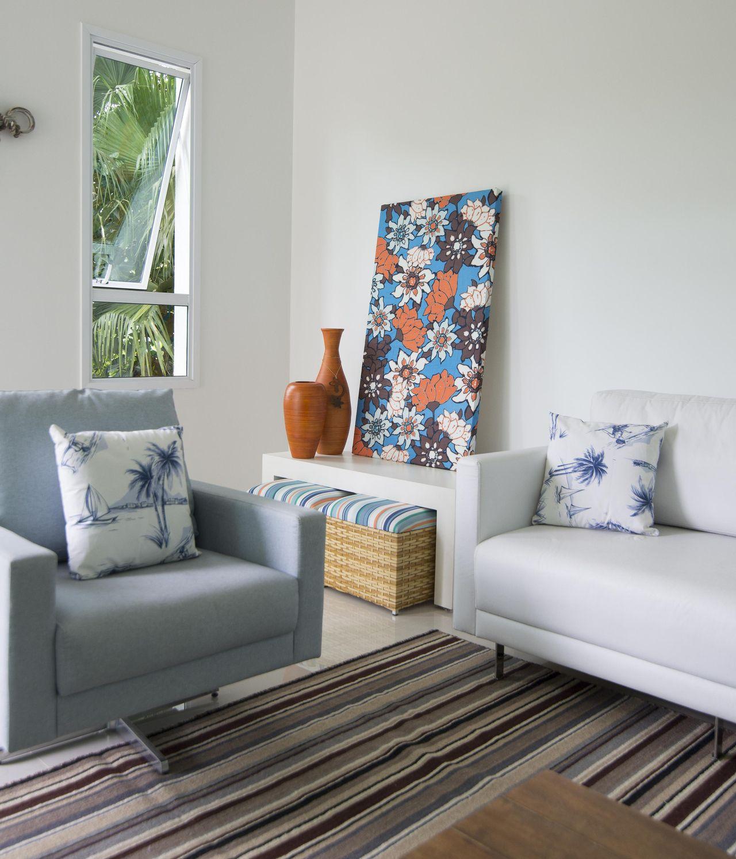 Living Da Casa De Praia De Of Cio Da Arte 115904 No Viva Decora -> Decoracao Sala De Artes