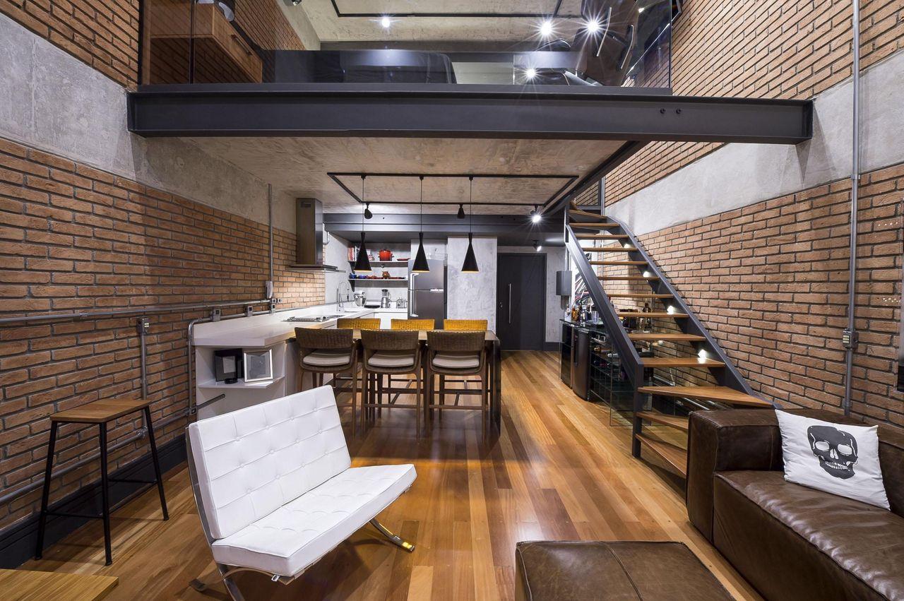 Photo de loft ga with photo de loft ga with photo de for Sala de estar antigua