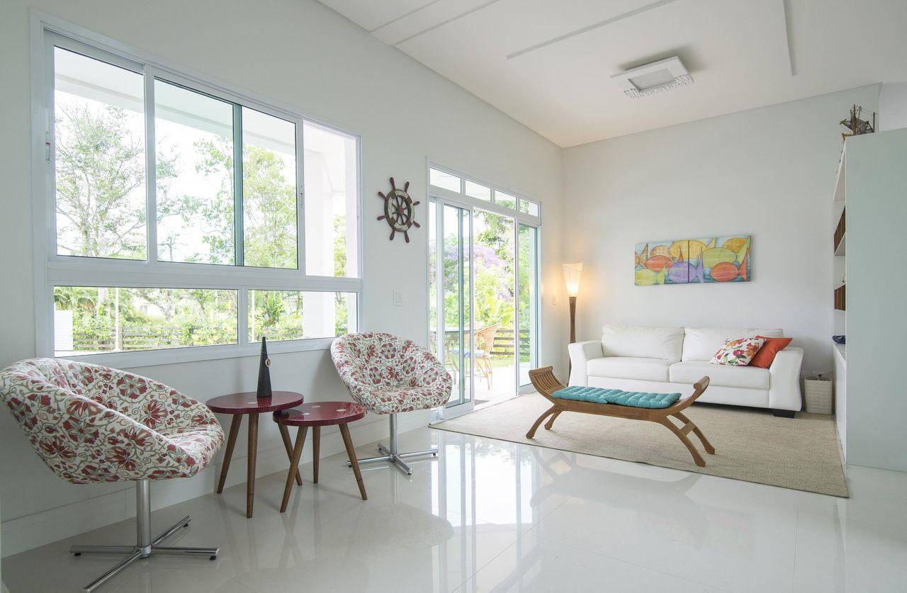 Poltronas Floridas De Of Cio Da Arte 116722 No Viva Decora -> Decoracao Sala De Artes
