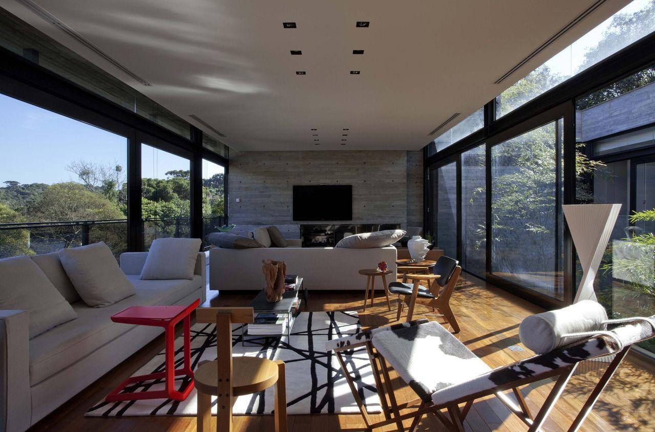 Sala de estar de Marcos Bertoldi - 11581 no Viva Decora