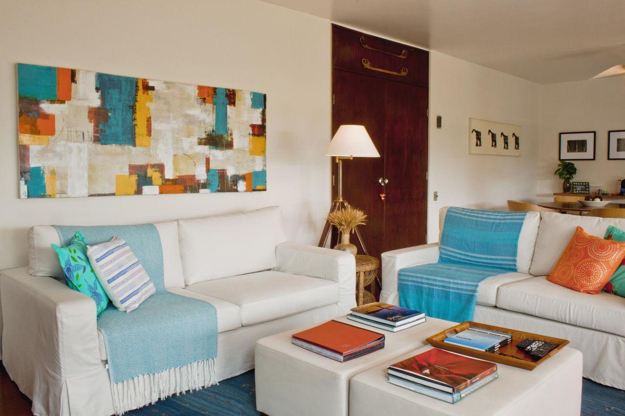 Quadro Abstrato Colorido De Renata Romeiro 78502 No Viva Decora -> Quadro Abstrato Sala De Jantar
