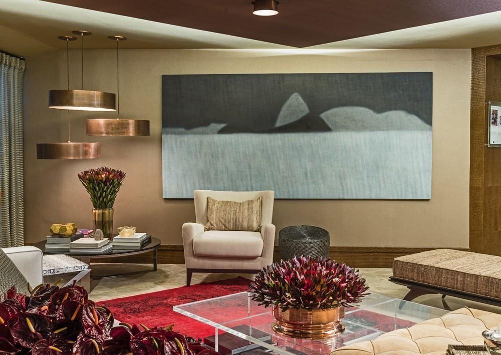 Quadro decorativo grande para sala de estar for Sala de estar grande com escada