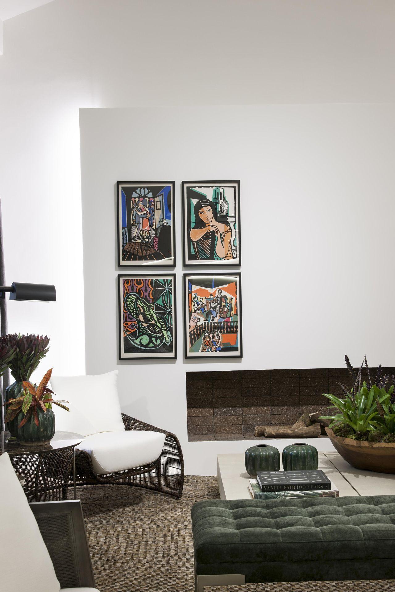 Quadros Para Sala 80 Exemplos Para Voc Se Inspirar -> Salas De Luxo Decoradas