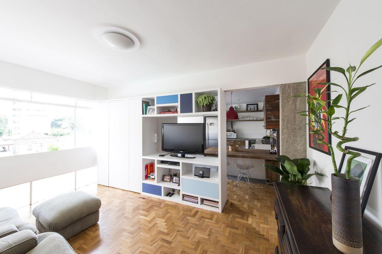 Decorao Clean Sala Pequena Foto Reproduo Stadshem Decorao Clean  -> Artigos De Decoracao Para Sala Pequena