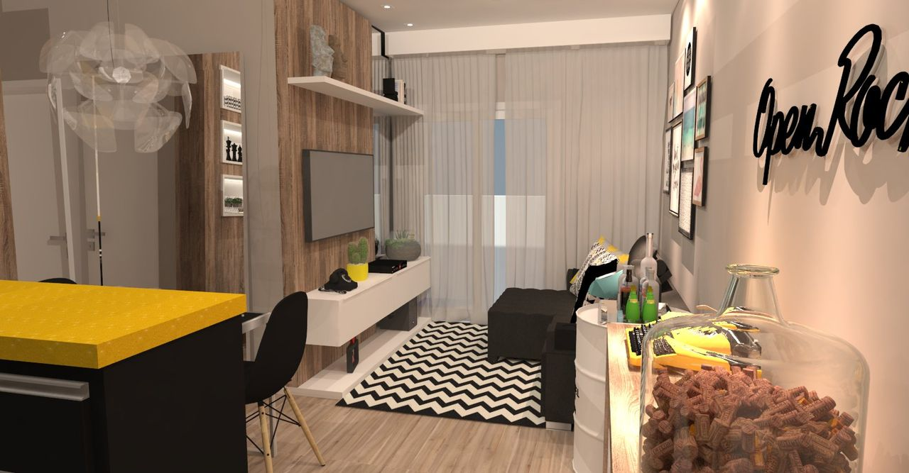 Decorao Preto E Branco Sala Decorao Sala De Estar Com Tapete