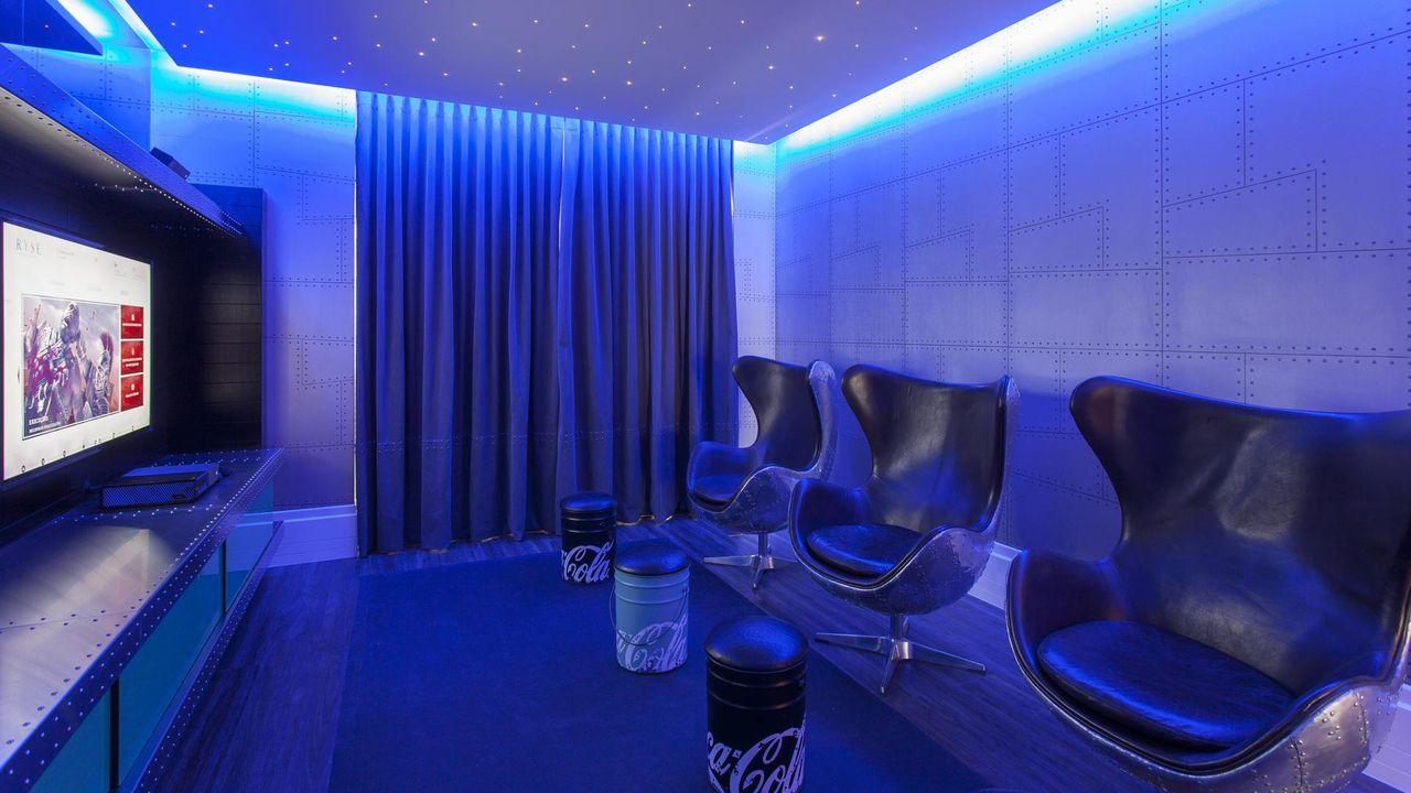 Sala De Cinema De Jayme Bernardo Arquitetura E Design 68383 No  -> Imagem De Sala De Cinema