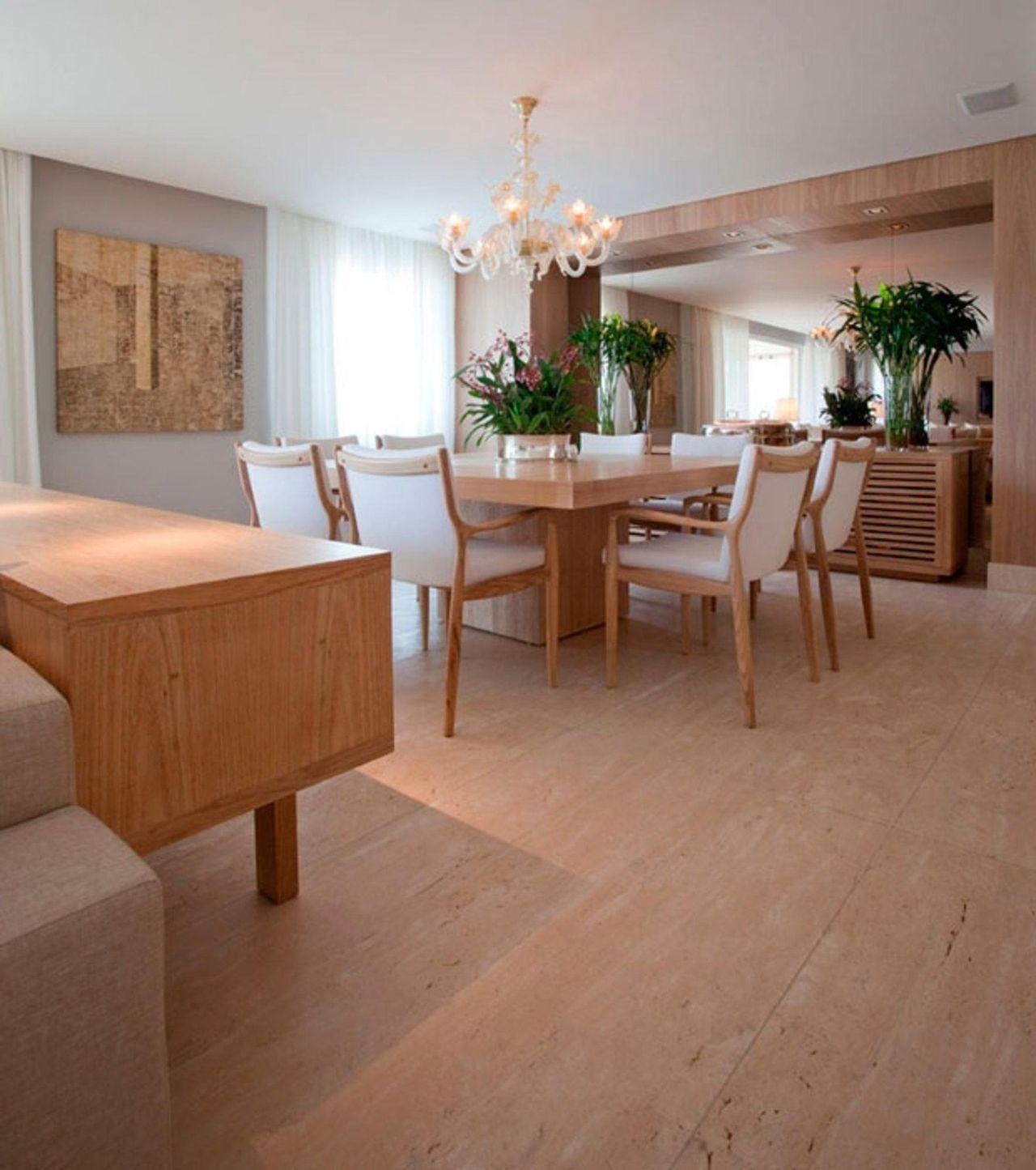 Sala De Jantar Com Lustre E Mesa Quadrada De Renata Florenzano  -> Lustres Para Sala De Jantar Com Mesa Quadrada