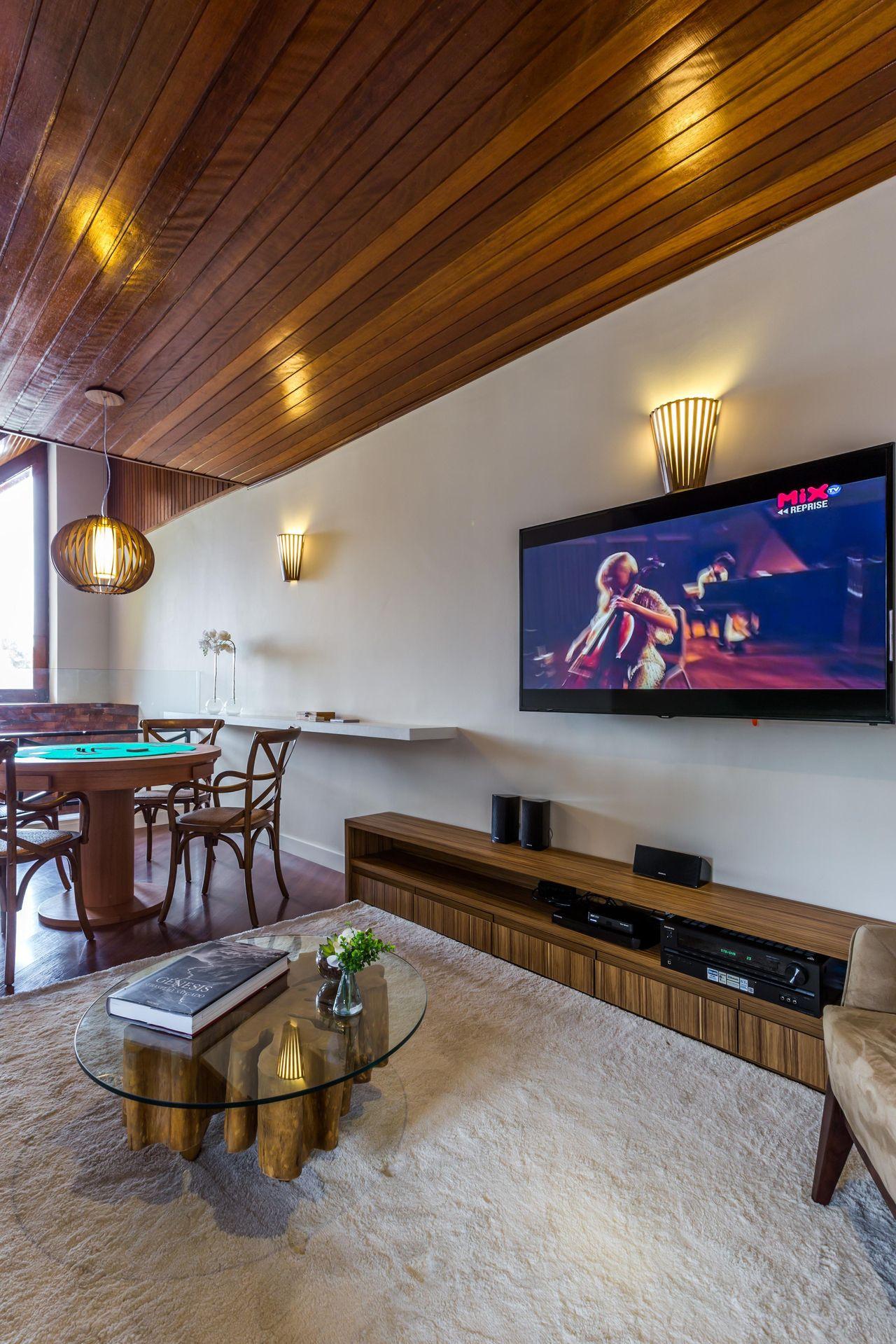 Sala De Jogos E Tv De By Arq Design 81136 No Viva Decora -> Sala De Tv E Jogos