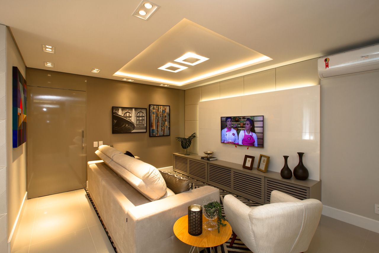 Decorar Painel De Tv Painel Para Tv Br Em Mdp X Cm Loading Zoom  -> Abajour Para Sala De Tv
