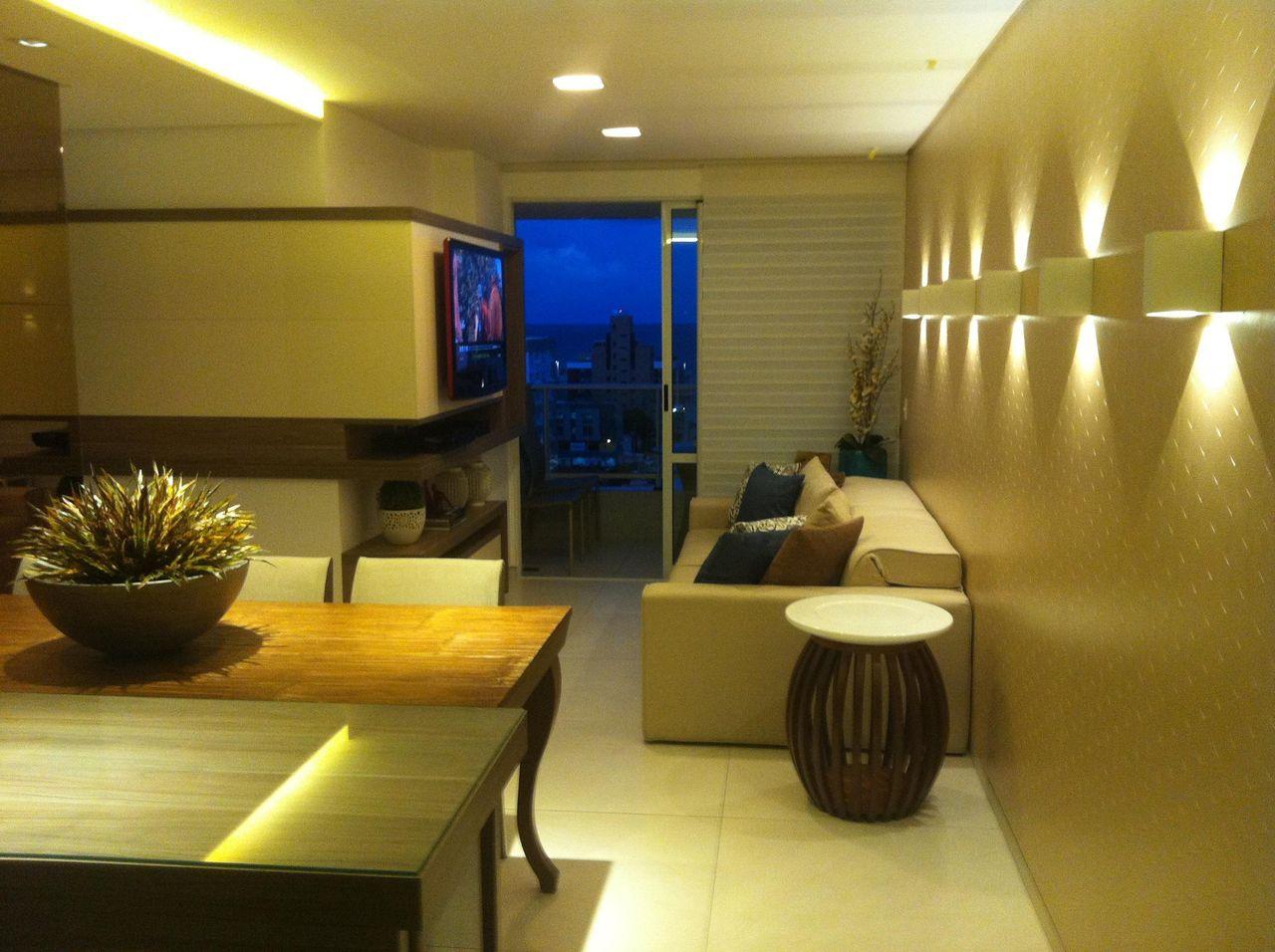 Sala Pequena De Apartamento De Larissa Vinagre 44366 No Viva Decora -> Sala Pequena Apartamento