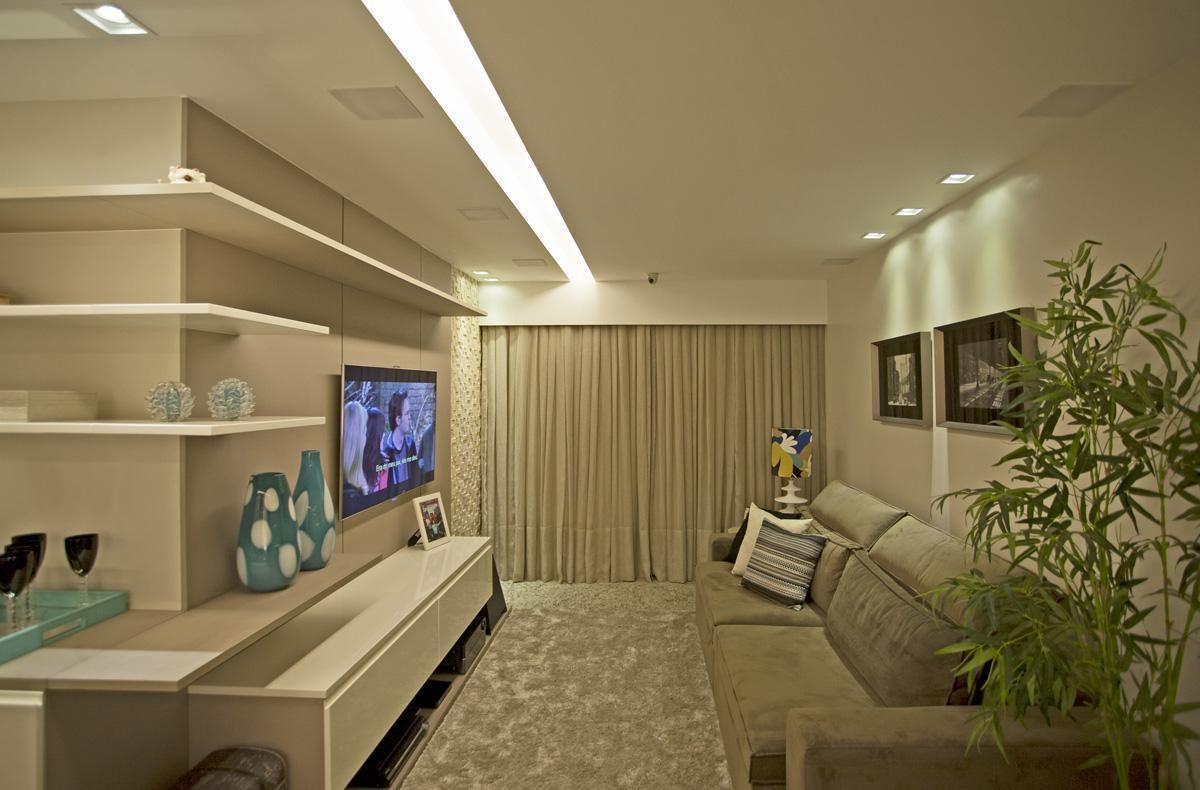 Sala De Tv Certeza De Conforto Dentro De Casa