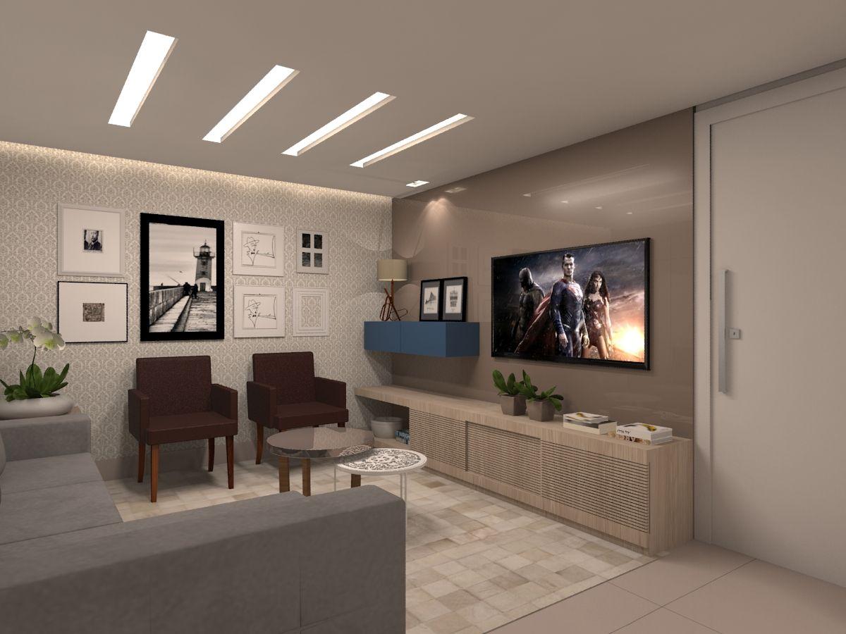 Decorao De Quadros Na Parede Da Sala A Decorao De Ambientes Com  -> Quadro De Parede Para Sala