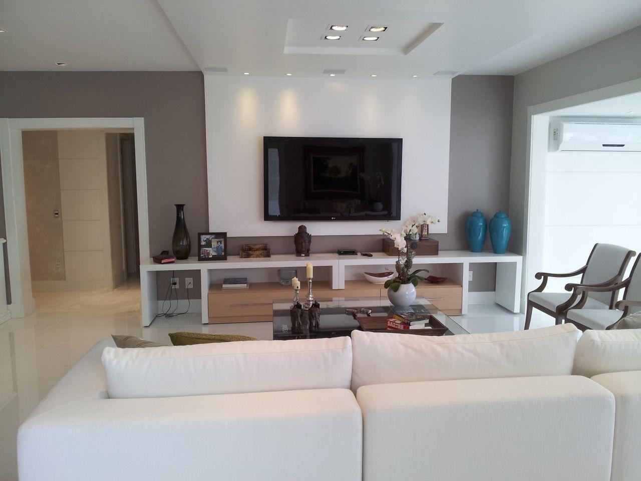 Sofa Sala De Tv O Sof Que Voc Quer Pra Receber As Visitas Ou Pra  -> Decoracao De Sala De Tv Com Sofa Azul