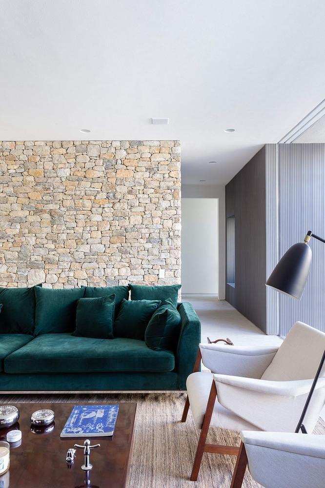 Resultado de imagem para sofá verde