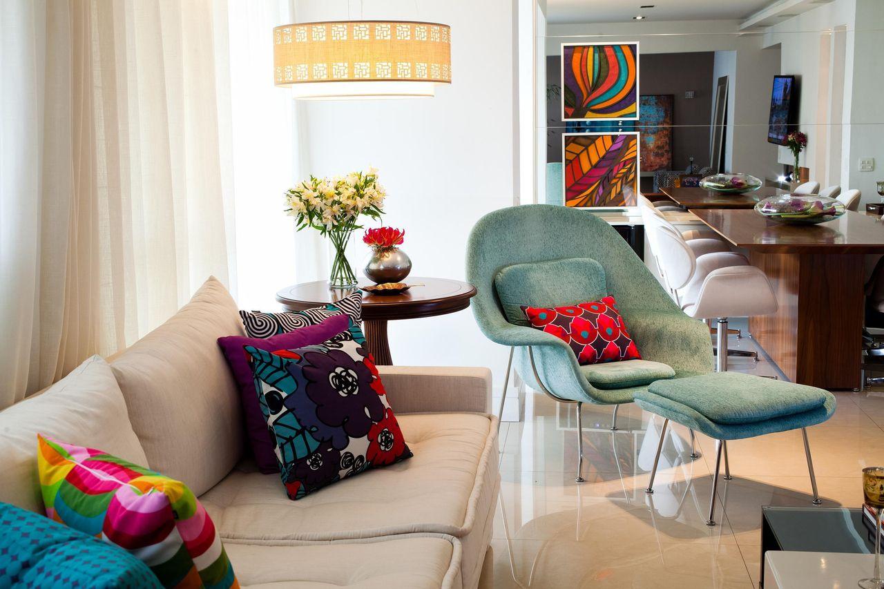 Quadros Para Sala 80 Exemplos Para Voc Se Inspirar -> Sala De Estar Apartamento Decoracao
