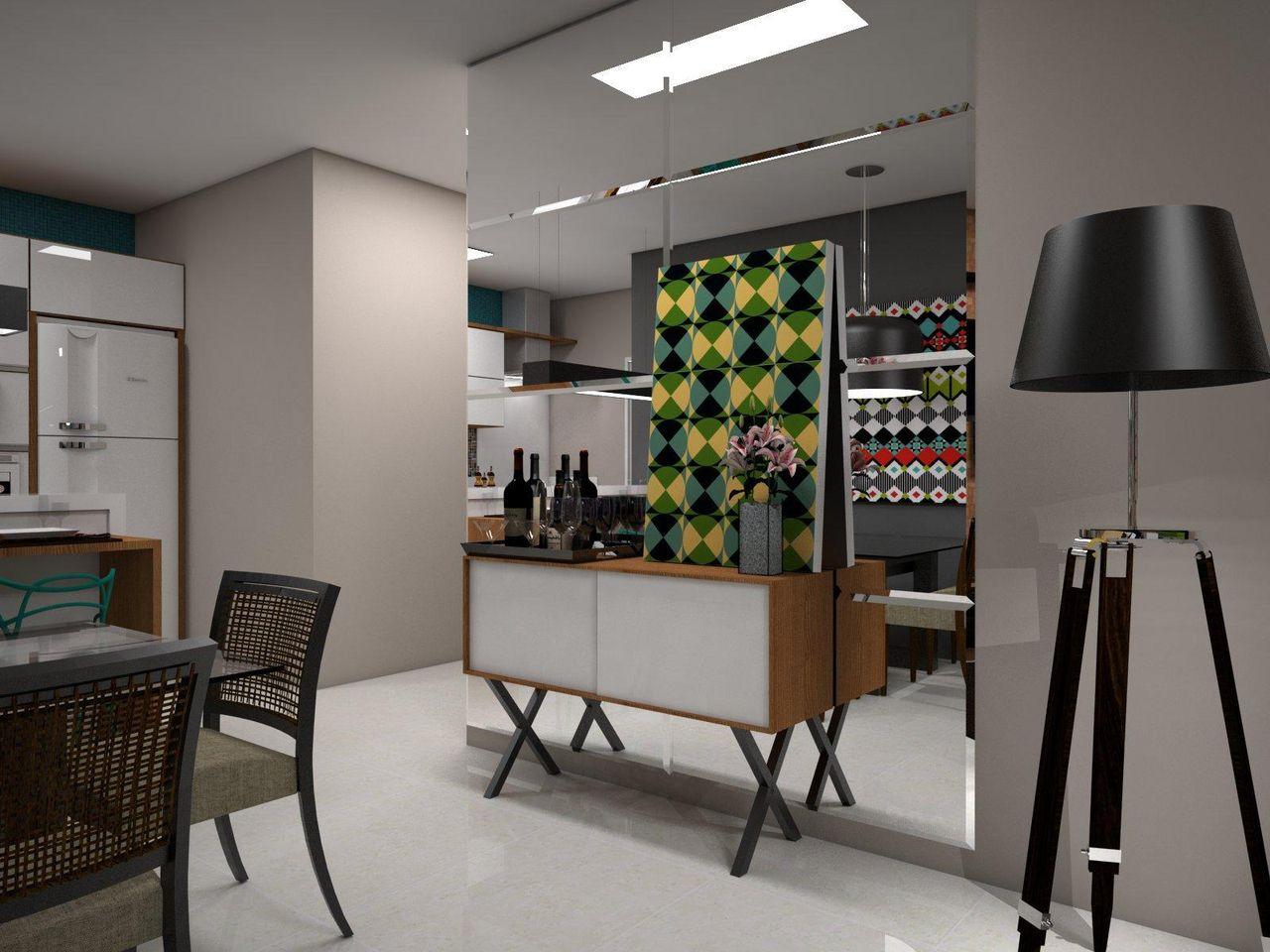 Salas De Jantar Com Aparador Mesa Para Sala De Jantar Vitria  -> Abajur Pra Sala De Estar
