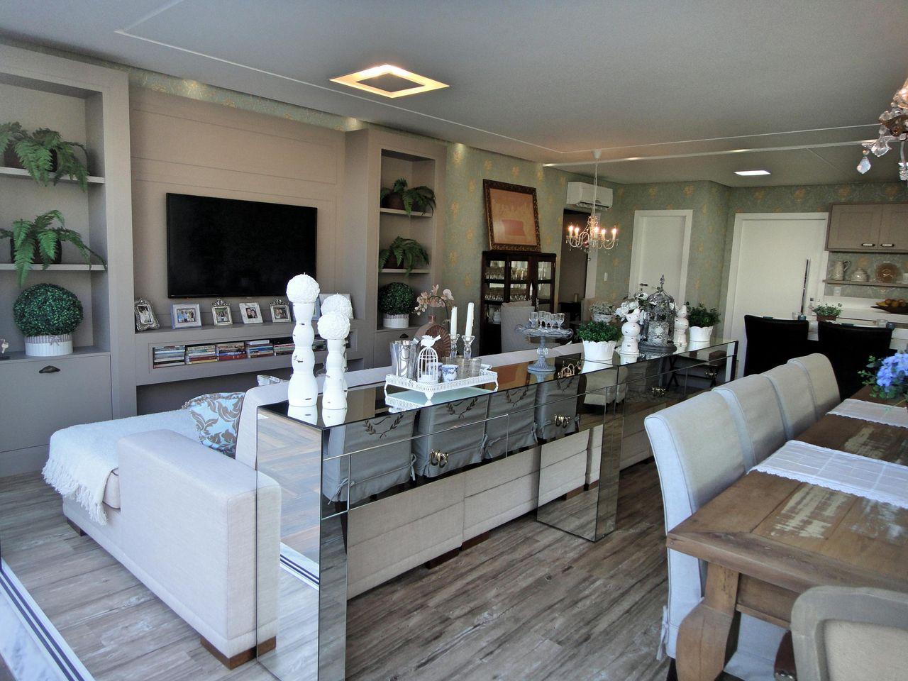 Sala De Jantar Com Espelho E Aparador Como Decorar Ambientes Com  -> Sala De Jantar Com Espelho E Aparador