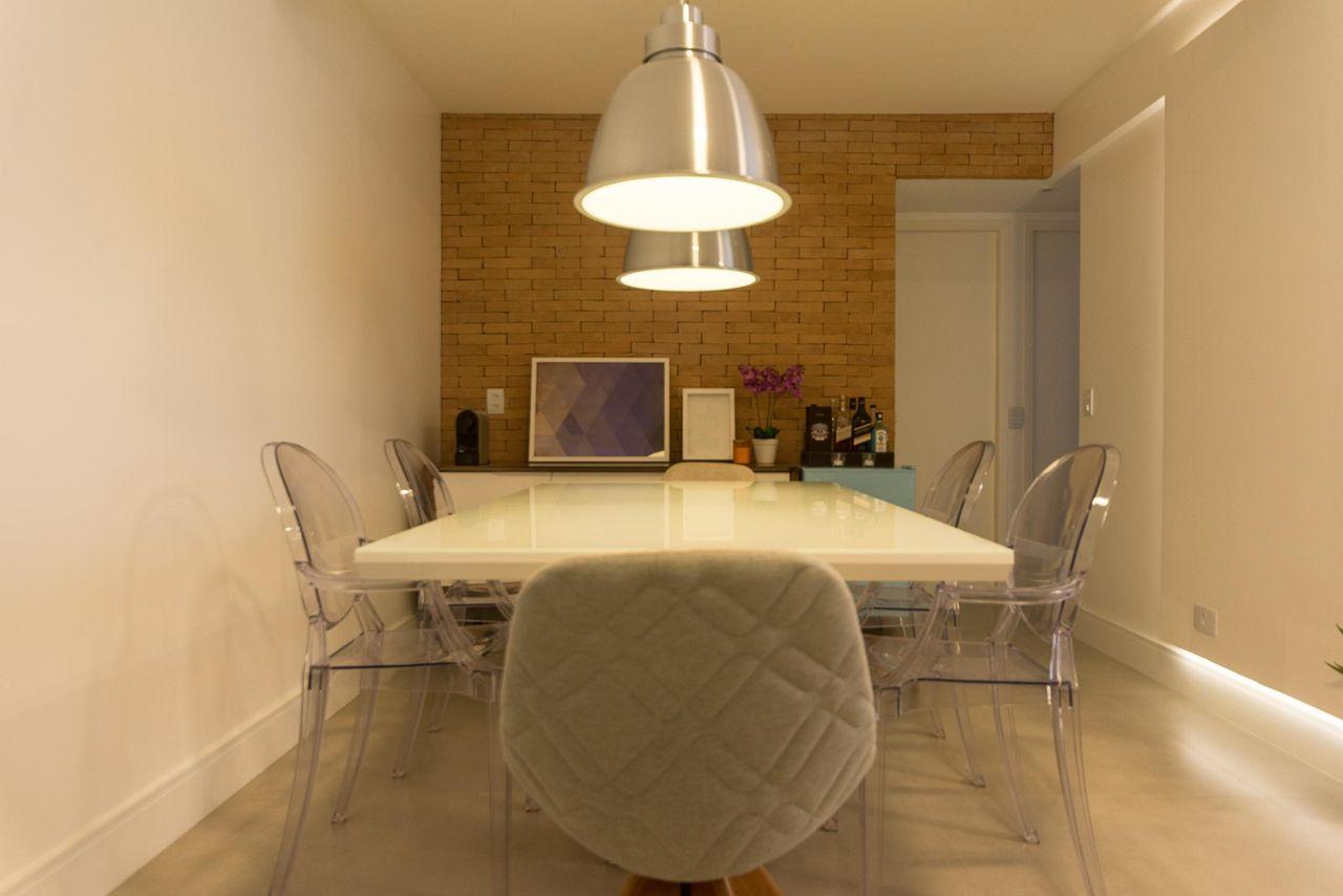 Cadeiras De Acr Lico De Tria Arquitetura 83231 No Viva Decora -> Cadeiras Para Sala De Jantar Acrilico