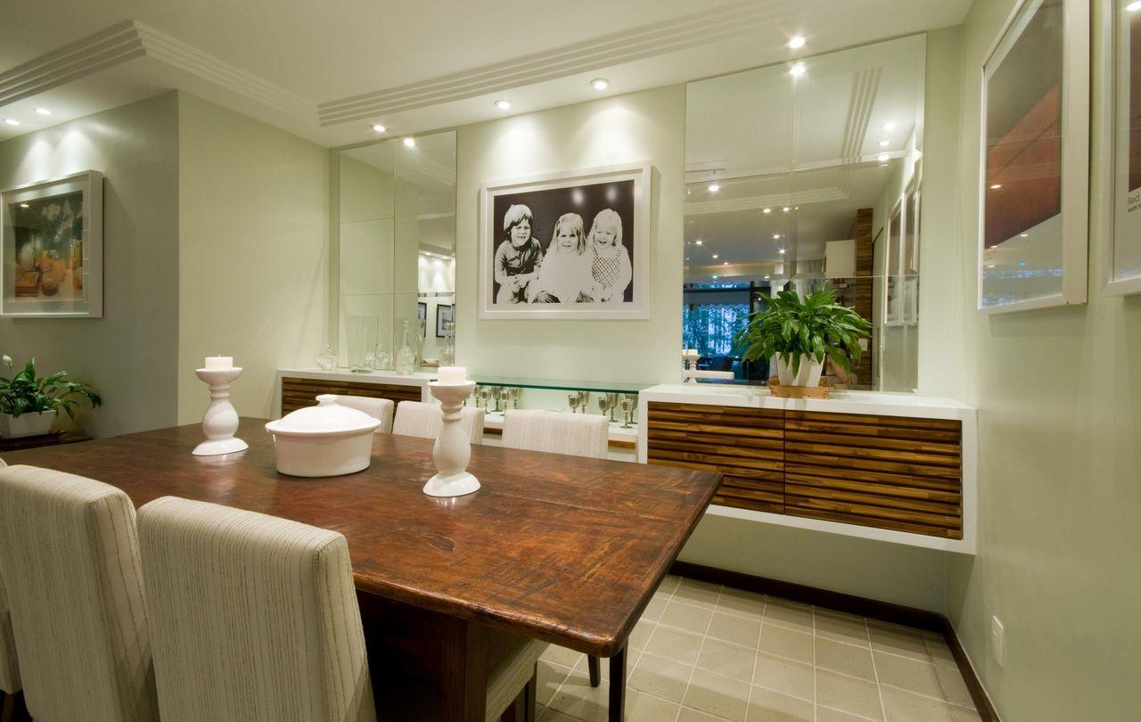 Sala Com Espelho Sala Espelho Espelho Para Sala De Jantar Preos Na  -> Sala De Estar Decorada Com Papel De Parede E Espelho