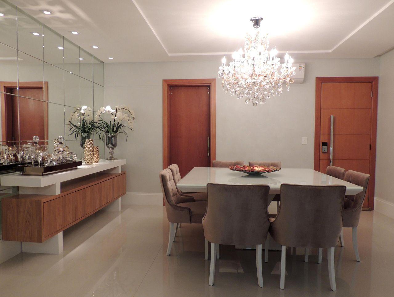 Lustre Na Sala De Estar Salas De Jantar E Estar Integradas Veja  -> Lustres Para Sala De Jantar Barato