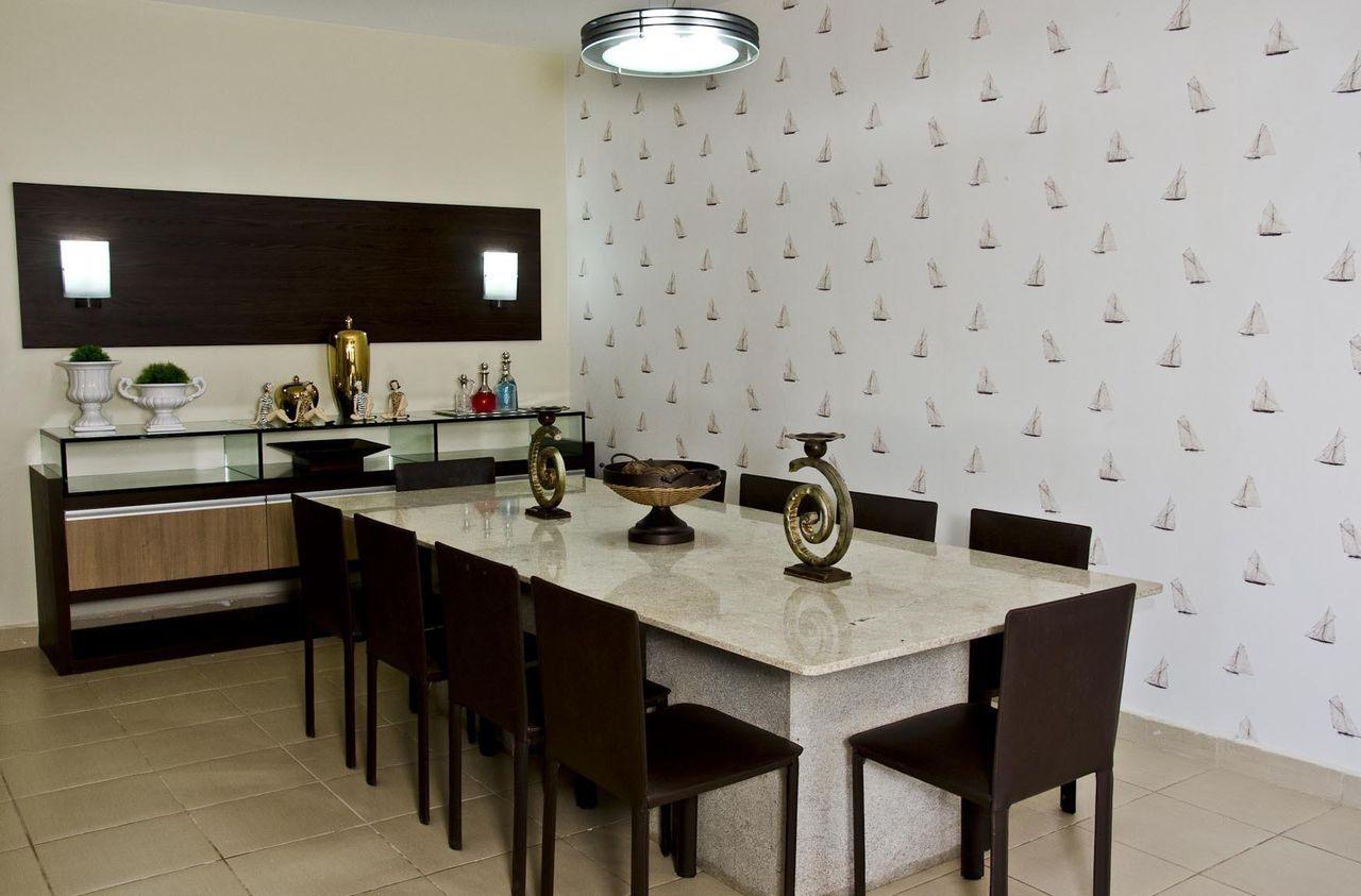 Cozinha Americana Com Mesa De Marmore Oppenau Info -> Sala De Jantar Pequena Com Mesa De Marmore