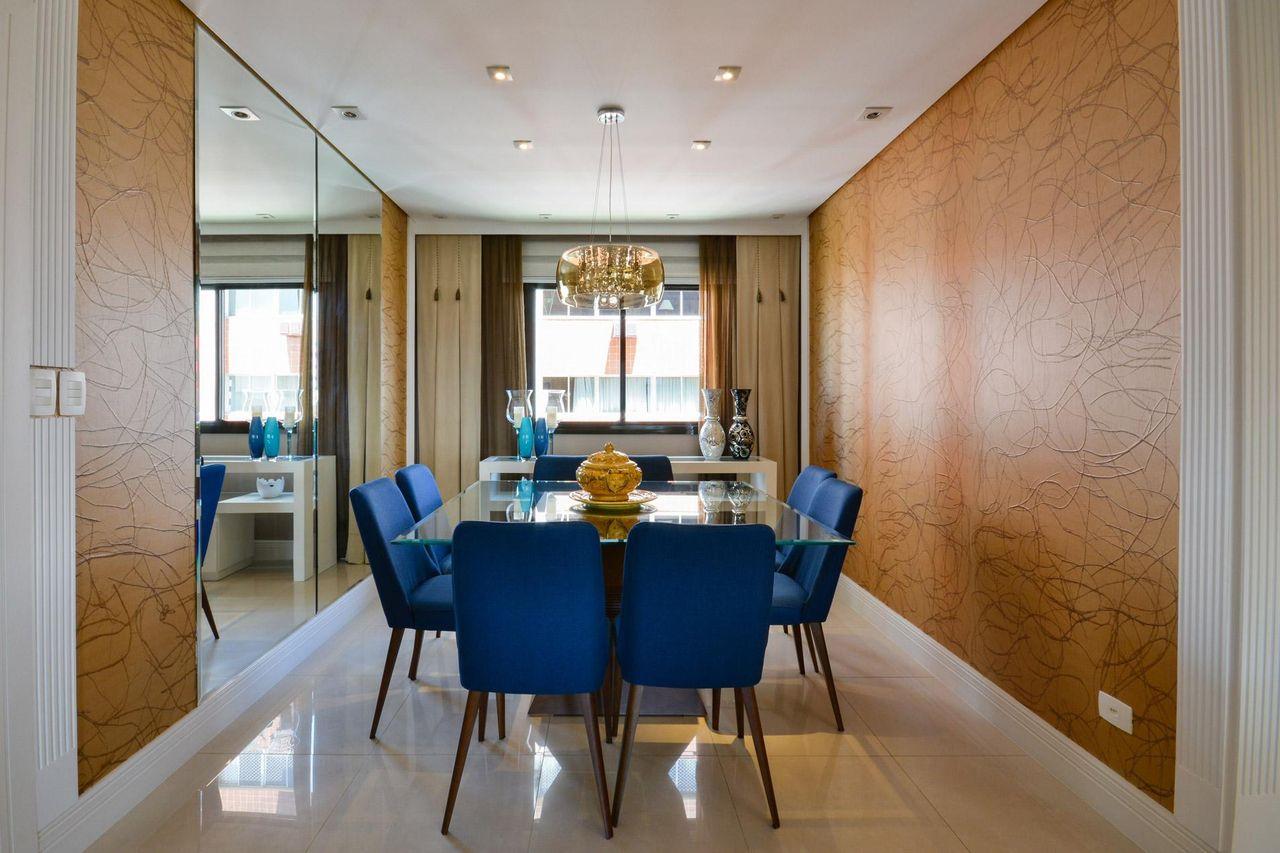 Mesa Jantar Azul Mesa De Jantar Redonda Conjunto Sala De Jantar  -> Decoracao Sala De Jantar Azul