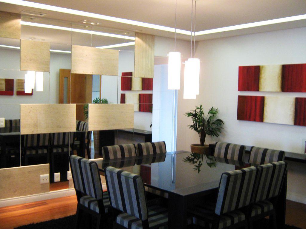 Sala De Jantar Com Parede De Vidro ~ Sala de jantar com parede de Vidro de Lucilene Leitte  51132 no Viva