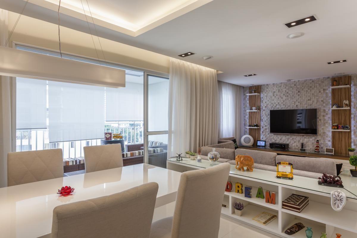 Sala De Estar E Jantar Integradas Sala De Estar With Sala De Estar  -> Sala De Estar Pequena Integrada Com Sala De Jantar