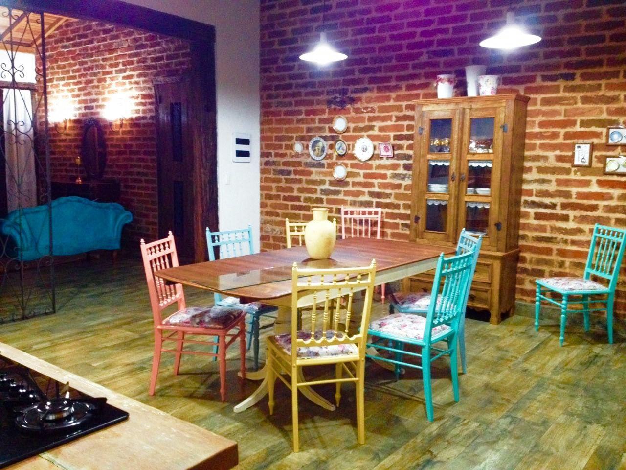Cozinha Gourmet Com M Veis Antigos E Madeira De De De Martha  ~ Meu Movel De Madeira Cozinha