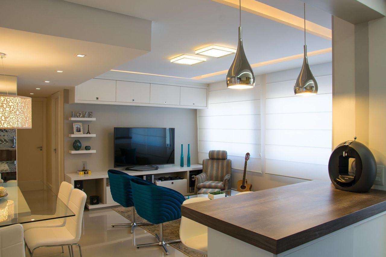 Sala Sala De Jantar E Cozinha Integradas Oppenau Info -> Sala E Cozinha Integrada Como Decorar