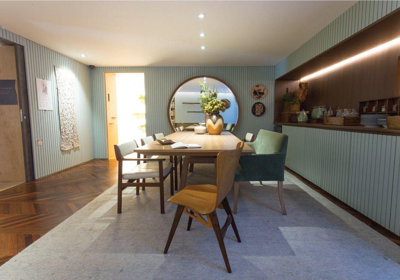 Mesa De Jantar Na Parede Dicas Para Uma Sala De Jantar Pequena  -> Cores Parede Sala Jantar