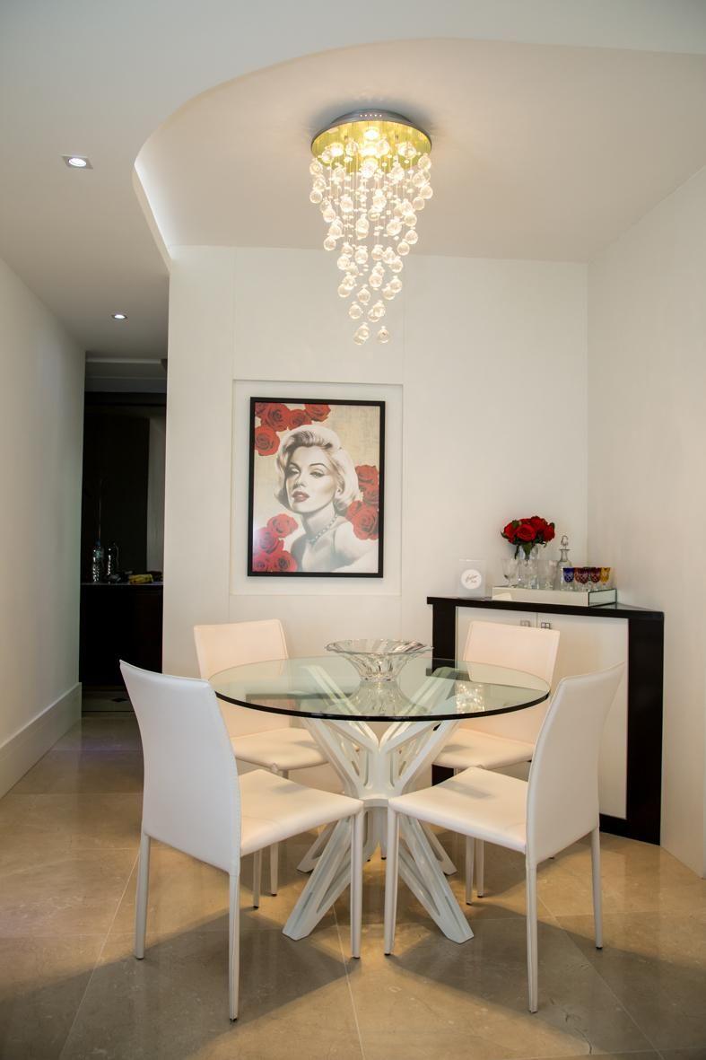 Cozinha Pequena Com Mesa Redonda Mesas Para Cozinha Pequena Mesa  -> Sala De Jantar Pequena Mesa Redonda Ou Retangular