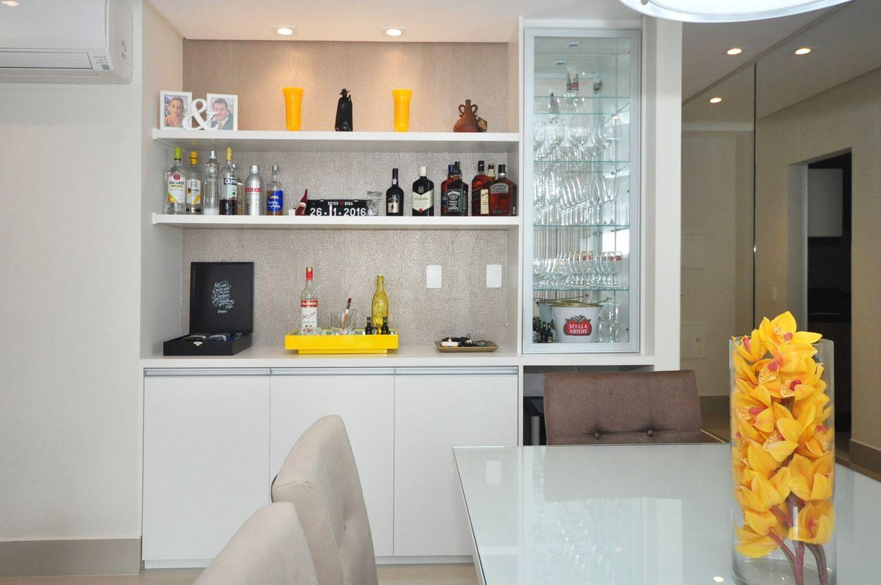 Cristaleira Cozinha Planejada Resimden Com