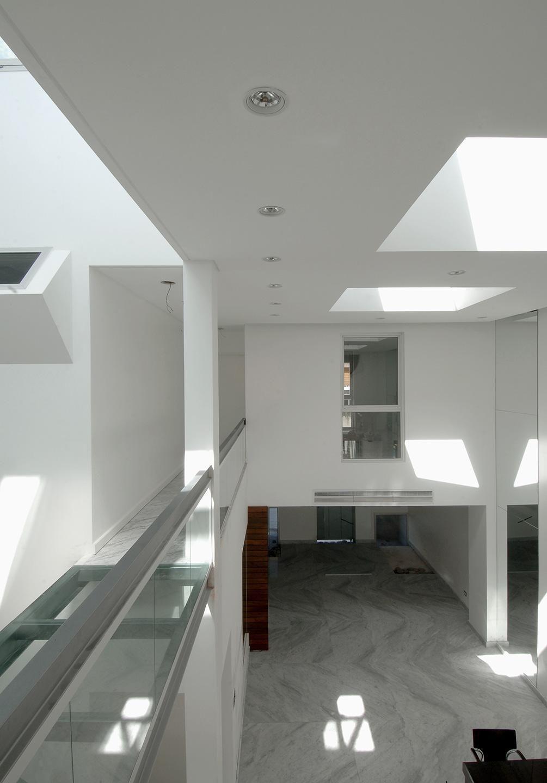Sala Com Acabamento De Vidro De Estudio Sespede Arquitectos 53402  -> Acabamento Sala De Jantar