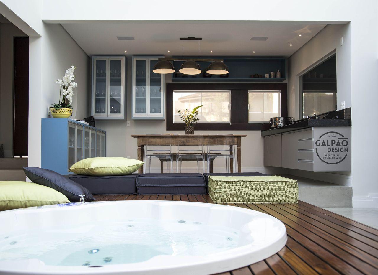 Espa O Gourmet Com Spa De Galp O Design Arquitetura Interiores Co