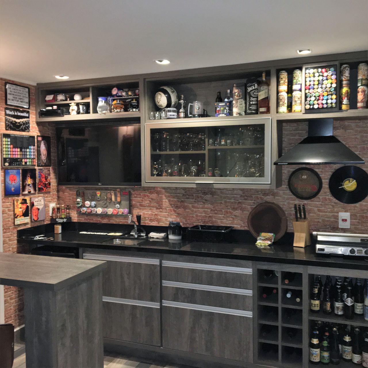 Decoração Varanda Gourmet Home Bar Lucianogarbimalvarez1 168094