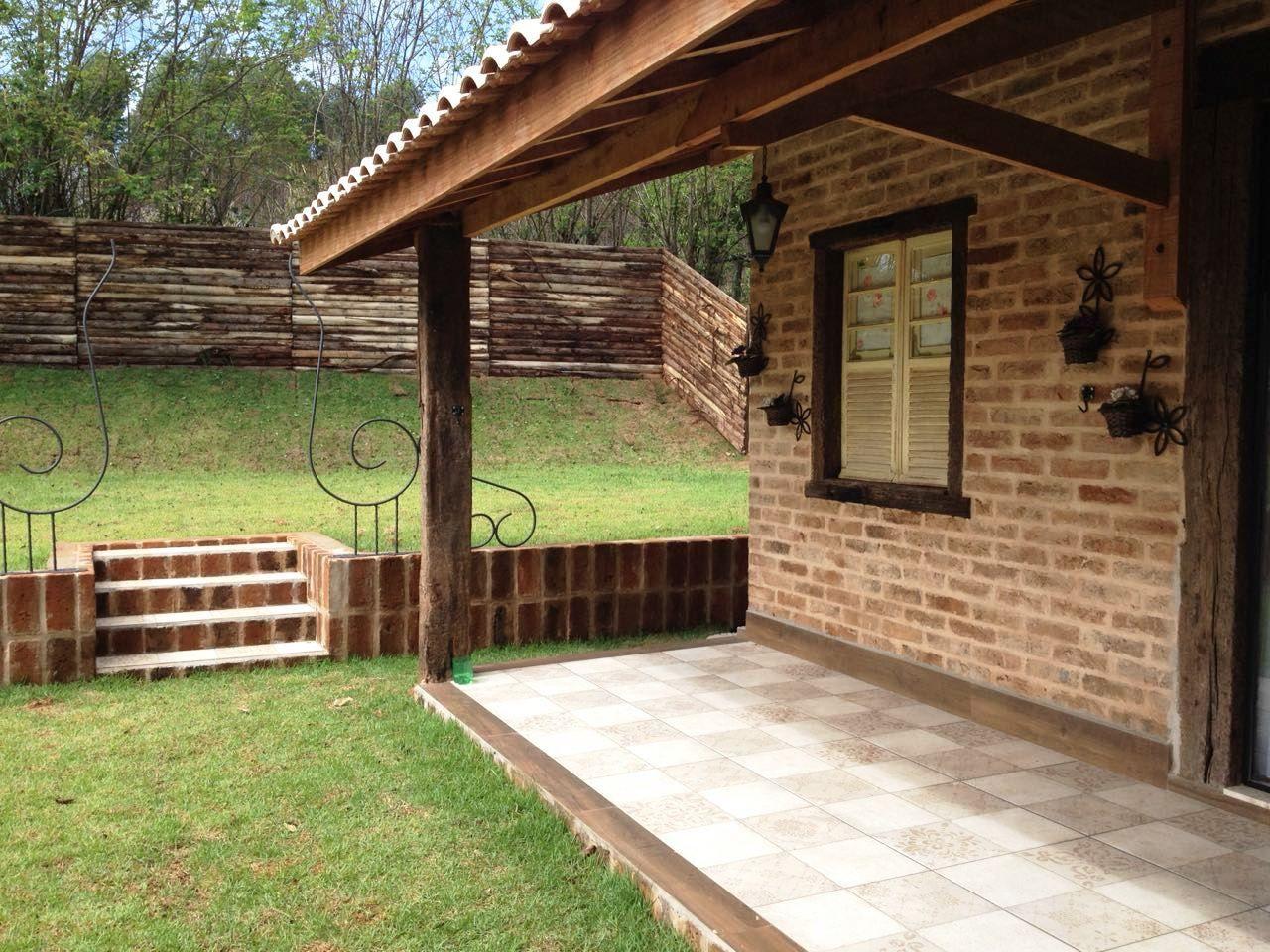 Casas de campo com varanda e jardim casa de campo na - Casas de campo restauradas ...