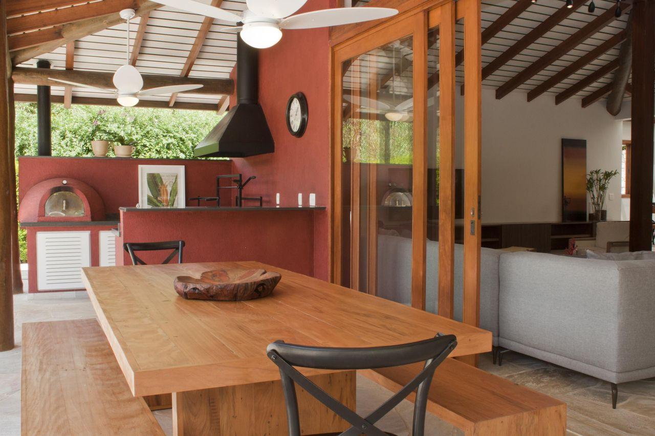 Cozinha Rustica Moderna Area Externa Oppenau Info