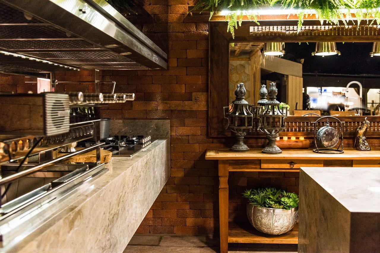 Varanda Gourmet R Stica Com Churrasqueira De Morar Mais Por Menos