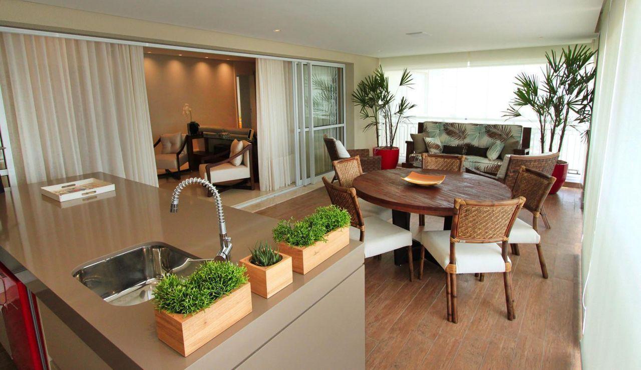 Extremamente Varandas gourmet valorizam qualquer apartamento NZ04