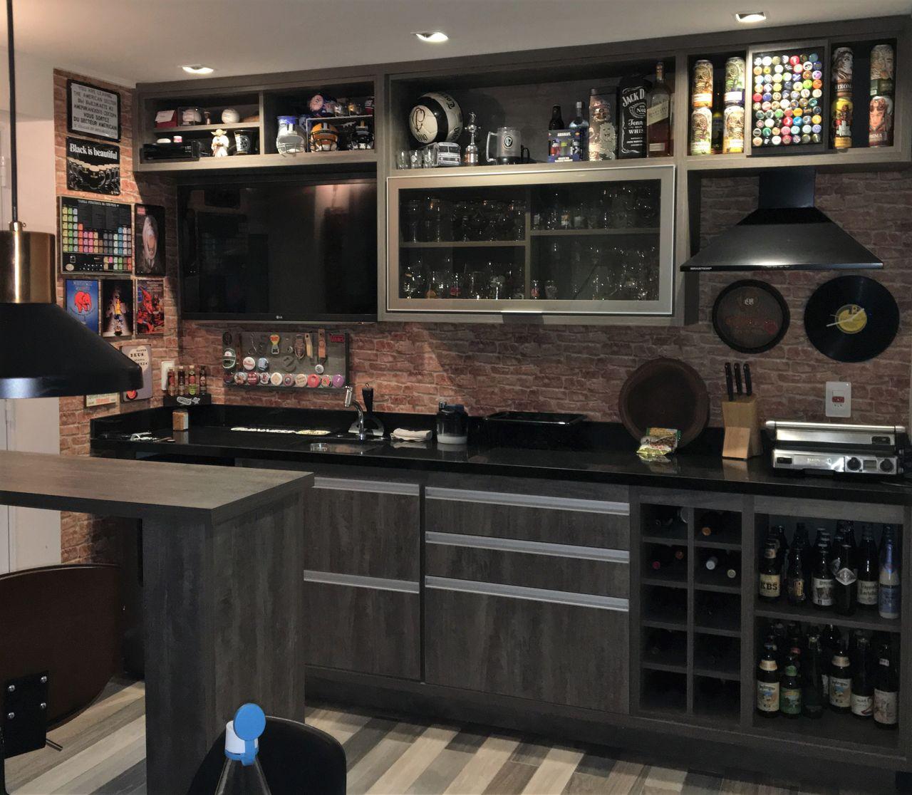 Decoração Varanda Gourmet Home Bar Lucianogarbimalvarez1 168103