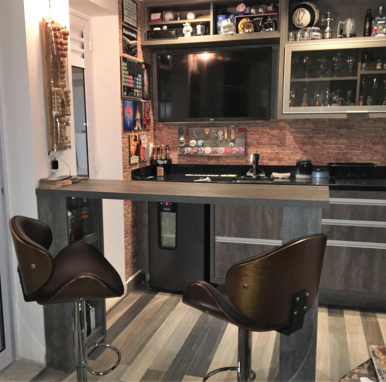 Decoração Varanda Gourmet Home Bar Lucianogarbimalvarez1 168097