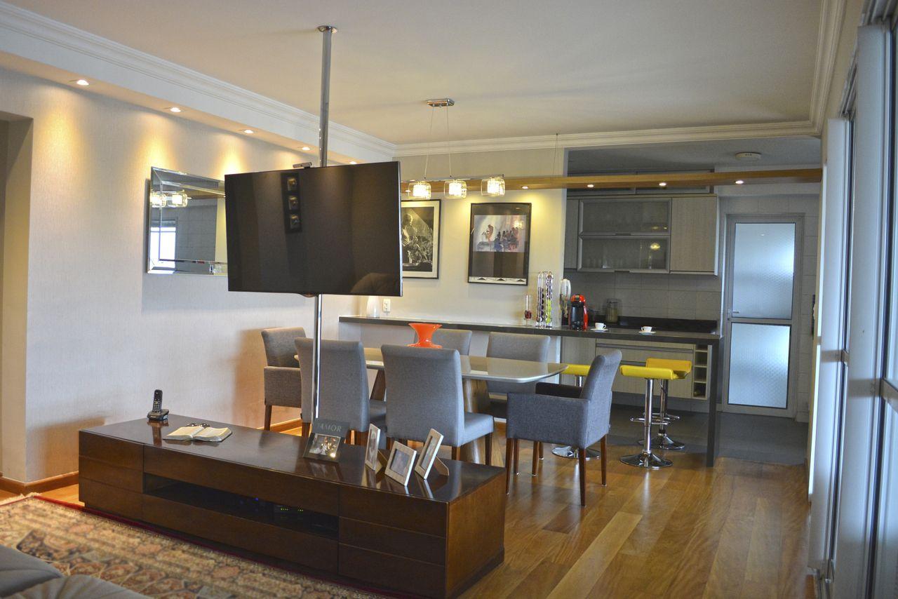 Cozinha Americana Com Ilha E Sala De Jantar Fonte Site Cozinha
