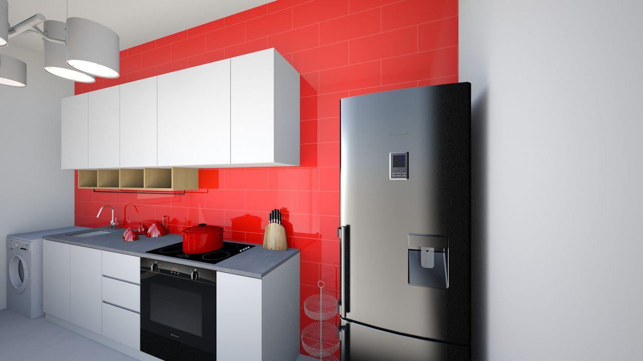 Cozinha Vermelha De Ingrid Oliveira De Santana 134822 No Viva Decora